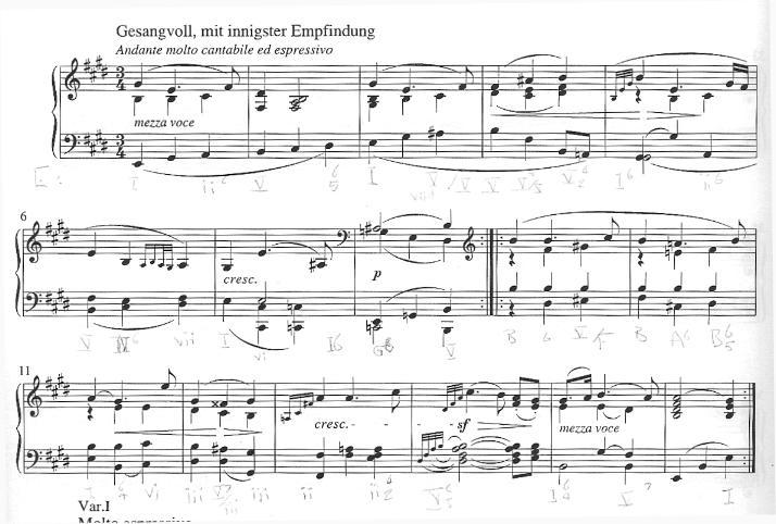 Piano Sonata No. 30, opus 109, 2nd movement, Ludwig van Beethoven