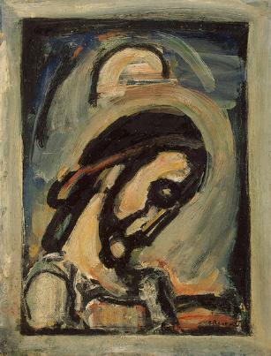 rouault christ in profile